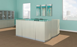 medina sea salt reception desk