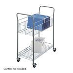 Safco Wire Mail Cart 7754