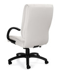 Offices To Go White Luxhide Executive Chair 2700-BL28