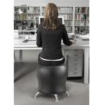 Safco Zenergy Black Vinyl Ball Chair 4751BV