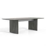 medina mnc8lgs gray steel table