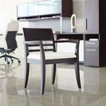 Global 4076 Islands Wood Reception Armchair