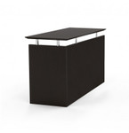 medina universal desk return in mocha