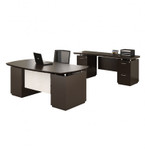 STL9 Sterling Office Desk Configuration by Mayline (3 Finish Options!)
