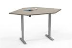 Mayline ML 2 Stage Height Adjustable Corner Surface Table 5248CSLH (Multiple Finish Options!)