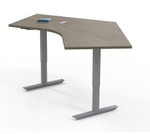 "Mayline ML 3 Stage 48"" x 30"" Height Adjustable Ergonomic Table 5348DLH (Multiple Finish Options!)"