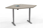 Mayline ML 3 Stage Height Adjustable Corner Surface Table 5348CSLH (Multiple Finish Options!)