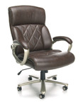 OFM Avenger Series 812-LX Brown Big and Tall Executive Chair