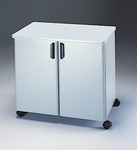 Mayline Mobile Utility Cabinet With Steel Exterior