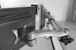 Systematix 7940 Parabolic Quad Screen Monitor Arm