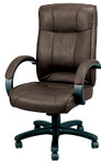 Eurotech Odyssey Brown Leather Executive Office Chair LE9406BRN