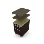 Verde Series VL-736 Executive Office Desk by Cherryman Industries