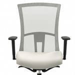 Vion High Back Mesh Office Chair with Polished Base by Global