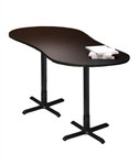 Mayline Peanut Shaped Bistro Table CA2PL