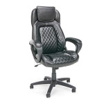 OFM Essentials Collection ESS-6060 Racing Style Leather Executive Chair