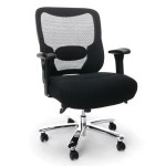 OFM Essentials ESS-200 Big and Tall Mesh Back Task Chair