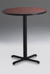 Mayline Round Bar Height Bistro Table CA30RHB