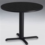 Mayline Round Bistro Table (Bar Height or Dining Height)