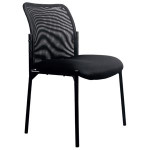 OFM Essentials Stackable Mesh Back Guest Chair ESS-8000