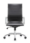 Woodstock Marketing Janis High Back Black Leather Conference Chair