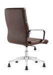 Woodstock Marketing Jimi Brown Leather Side Chair