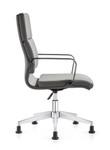 Woodstock Marketing Jimi Gray Leather Side Chair
