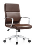 Woodstock Marketing Jimi Mid Back Contemporary Leather Conference Chair (4 Color Options!)