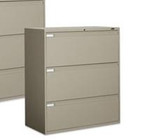 Global 9300 Series 3 Drawer Lateral File 9342P-3F1H