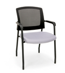 OFM Mesh Back Guest Reception Chair with Arms