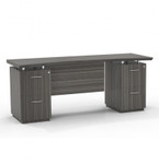 Mayline Sterling STEC72F Credenza with File File Pedestals (3 Finishes Available!)