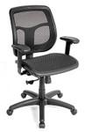Eurotech Seating Apollo MMT9300 Black Mesh Computer Chair