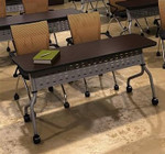 "Mayline SY2460 Sync Series 24"" x 60"" Table for Training Room"