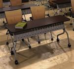"Mayline Sync Series 24"" x 72"" Training Room Table SY2472"