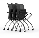 Mayline Valore High Back Training Chair TSH1 (2 Chairs)