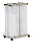Mayline Vertical File Cart 9429