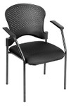 Eurotech Seating Breeze Guest Chair FS9077 with Black Frame