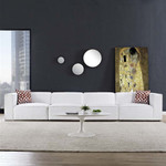 Modway Mingle 4 Piece Upholstered Sectional Sofa EEI-2829