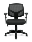 Offices To Go 11514B Mesh Back Managers Tasking Chair