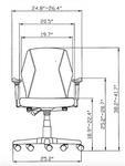 Aviator FM5505 Ergonomic Computer Chair by Eurotech Seating