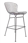 Contemporary Metal Bar Stool by Woodstock (2 Pack!)