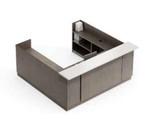 global zira custom u shaped reception desk
