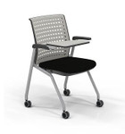 Pack of 2 Mayline Thesis KTS3 Tablet Arm Training Room Chairs