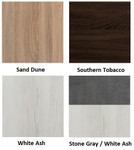 mirella wall cabinet finish swatches