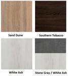 mirella wall cabinet finish swatches