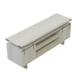 safco mirella series white ash low wall cabinet