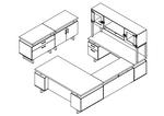 mr2 mirella desk line drawing