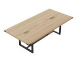 8' sand dune mirella table