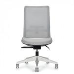 global factor series armless high back mesh chair