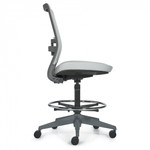 factor armless task stool side view