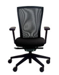 ki altus black mesh chair